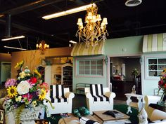 A spot to sit and relax.... At Summerset Salon Day Spa  Flint MI