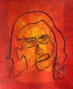 The smARTteacher Resource: Wire Self Portrait Sculptures