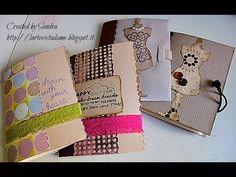Tutorial Scrapbooking in italiano: Quaderni-Blocco appunti - Notebook - ...