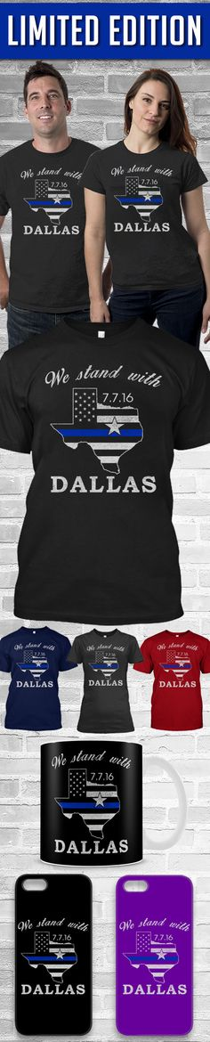 We Stand For Dallas Shirt! Click The Image To Buy It Now or Tag Someone You Want To Buy This For.  #texas
