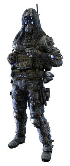 Titanfall Male IMC Sniper