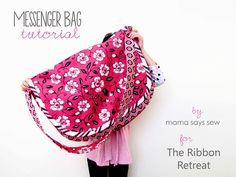 mama says sew: Messenger Bag Tutorial