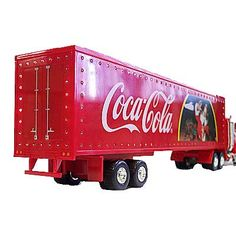 Holiday Caravan Coca-Cola Diecast Truck 1:43 Scale 2012 - Caravan trucks are back for the holidays!