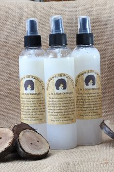 2 in 1 Moisturizing Leave-In Conditioner & Detangler by BeigeBrownAllNatural on Etsy https://www.etsy.com/listing/211323754/2-in-1-moisturizing-leave-in-conditioner