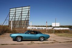Route 66 Drive In - Weatherford, Oklahoma.