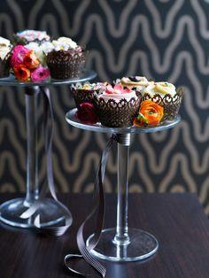 Flemings Mayfair London Hotel... decadent idea.. love cupcakes..