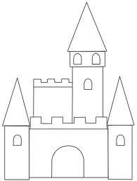 castle craft template - Google Search
