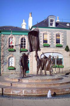 Liberation Sculpture, Saint Helier - St Helier, Channel Islands