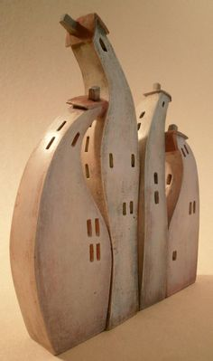 ceramic minatures by Vesna Gusman, via Behance