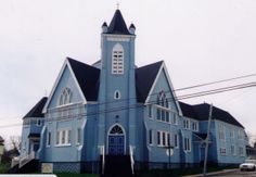 Andrew's Presbyterian Church 643 Main St, Sydney Mines, NS Concert Venues, Sydney, Maine, Cathedral, Adventure, Mansions, House Styles, Building, Travel