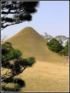 水前寺公園。熊本。