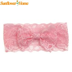 Newly Design New Fashion Girls Lace Big Bow Hair Band Baby Children Head Wrap Headwear Band Accessories Drop Shipping #>=#>=#>=#>=#> Click on the pin to check out discount price, color, size, shipping, etc. Save and like it!
