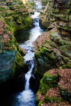 Skillet Creek outside Baraboo, Wisconsin by Art Walaszek via Flickr