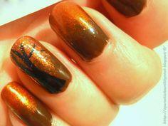 Golden Rose 81, Coral Prosilk 126, Kiss Nail Art Paint SPA12 Black & Coral Prosilk 56