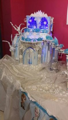 Ice Castle recycled materials