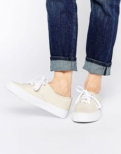 Image 1 of ASOS DIXIE Lace Up Trainers