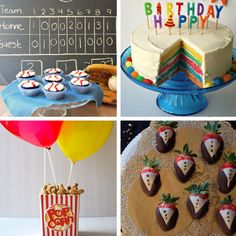 We've rounded up all our favourite birthday parties into one handy go-to guide with everything you need to plan your child's next birthday celebration.   Click on to see all 19 of our creative themed parties.