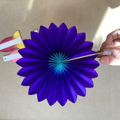 Folding Flower Fan Honeycomb decorations. Add a touch of colour to your home. Honeycomb Decorations, Gift Store, Stationery, Fan, Paper, Creative, Flowers, Gifts, Touch