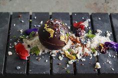 Meteorito Explosivo de Restaurante Migas para el Concurso de Tapas Jamón de Teruel 2014