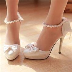 Wedding Shoes, White & Ivory Wedding Shoes Flats Online - DressWe.com