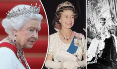 Sapphire Jubilee: Queen's 65-year reign in pictures | Royal | News ...