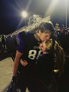 72 best high school couples images in 2019 Football Boyfriend, Football Couples, Goals Football, High School Football, Friday Night Football, Boyfriend Goals Relationships, Relationship Goals Pictures, Football Relationship Goals, Friday Night Lights