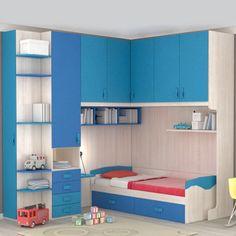 Pink Bedroom Design, Wardrobe Design Bedroom, Home Room Design, House Design, Bedroom Furniture Inspiration, Kids Bedroom Furniture, Home Decor Bedroom, Home Furniture, Boys Room Decor