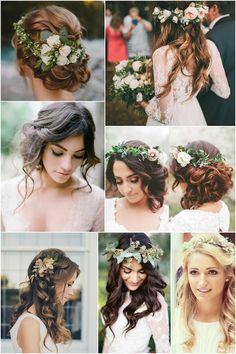 5. Wedding Hairspo - Romantic culrs are beautiful up or down. #rebeccaingramcontest #fijiairways and #yasawaislandresort
