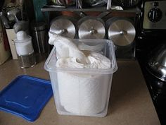Girl in Air BLOG: Homemade Baby Wipes