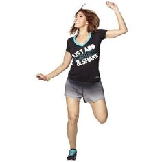 Zumba Fitness Aqua Shine Instructor VNeck XSmall -- Want to know more, click on the image.
