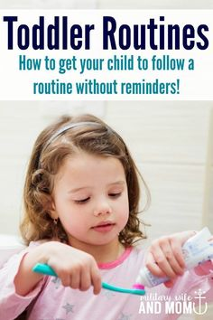 These printable routine cards made our toddler routines so much easier! | Stay at home mom schedule | Toddler schedule | Printables via /lauren9098/