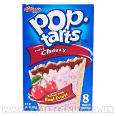 Frosted Cherry Poptarts. My obsession right now.