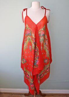 SCARF DRESS IDEAS | Craft Ideas / Upcycled Scarf Dress idea