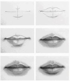 Front Mouth Drawing In 2019 Art Drawings, Drawing Techniques . Front mouth Drawing in 2019 Art drawings, Drawing techniques how to draw lips - Drawing Tips Drawing Techniques, Drawing Tips, Painting & Drawing, Drawing Ideas, Drawing Drawing, Self Portrait Drawing, Lips Painting, Pencil Drawing Tutorials, Learn Drawing