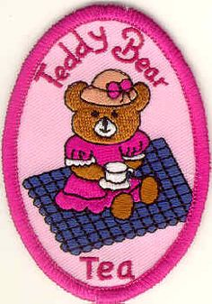 Teddy Bear Tea patch - PatchSales.com