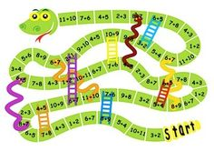 This product is part of Near Doubles- Games and activities your kids will love! A fun and engaging activity to help students increase fact fluency! This game is a favourite with my students!NEAR DOUBLES SNAKES AND LADDERS:Students place two counters on START.