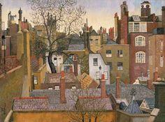 "Cedric Lockwood Morris                      ""From a Window at 45 Brook Street, London"" (1926)"