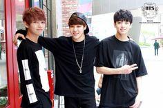 Maknae line, V, Jimin, Jungkook, Beautiful MV set