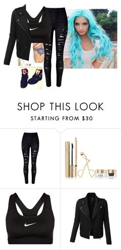"""""""-sitting on the porch of her house- ~Daleigh"""" by madxhatt3r ❤ liked on Polyvore featuring Dolce&Gabbana, NIKE, LE3NO and Timberland"""