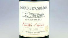 GODT KJØP: Domaine d'Andézon 2015. Rhone, Whiskey Bottle, Drinks, Drinking, Beverages, Drink, Beverage