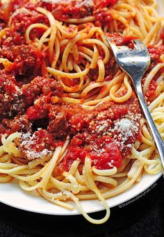 Honest to goodness, possibly the best Spaghetti Sauce I've ever made—maybe even the best I've ever had.