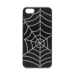 Spider Web Phone Cover - iPhone 5/5S Compatible, Halloween Accessories, Halloween Accessories, Tech Accessories, Your Fave's, all, Accessories, Phone Covers, Halloween, iPhone 5 Compatible, Phone Cases Fashion trends, accessories and jewellery for young women