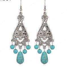 """Tibetan Silver Earrings(NWT) Beautiful dangle earrings. Brand new in package. Earrings are 3"""" long Boutique Jewelry Earrings"""