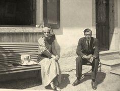 Princess Irina Alexandrovna Romanova with her brother, Prince Feodor Alexandrovich ROmanov.