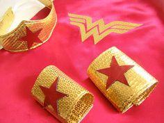 Wonder Woman costume DIY