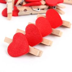 Cheap craft modern, Buy Quality letter w directly from China letter Suppliers: 50pc Mini Heart Love Wooden Clothespin Craft Clips Wooden Letters For Decorations Summer Style Wedding Decoration Free
