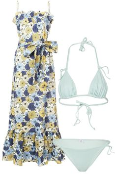 10 Perfect Swim and Cover Up Pairings Yes... summer is finally here!