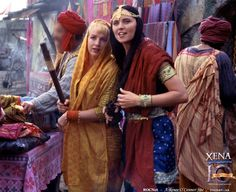 Xena and Gabby in India
