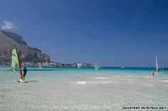 Mondello Beach Near Palermo