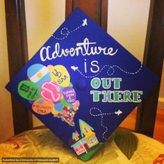 It's UD.I.Y. #UDGrad14 cap decorating edition. Senior Meagan Walsh shares her masterpiece and tips on her blog.